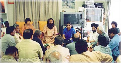 2000年インド政府関係者来日