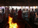 Yagna for World Peace and Reconstruction after the Kumamoto Earthquake
